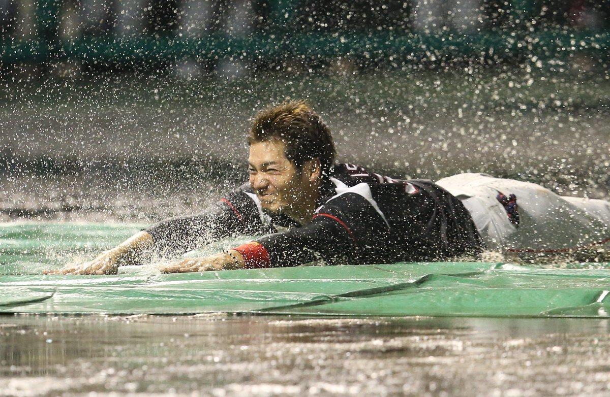 本日6月27日のライオンズ戦は雨天により3回途中ノーゲームとなりました。 #chibalotte https://t.co/v8PCrdGf...