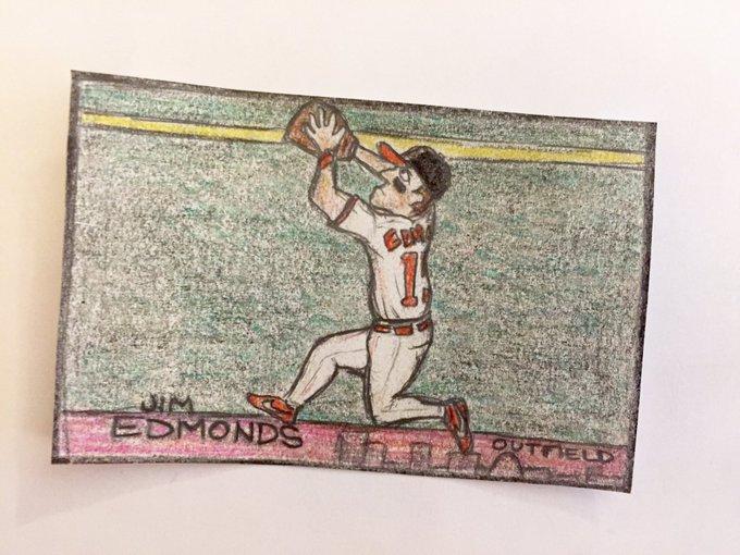 Wishing a happy 47th birthday to 8x Gold Glove Jim Edmonds!