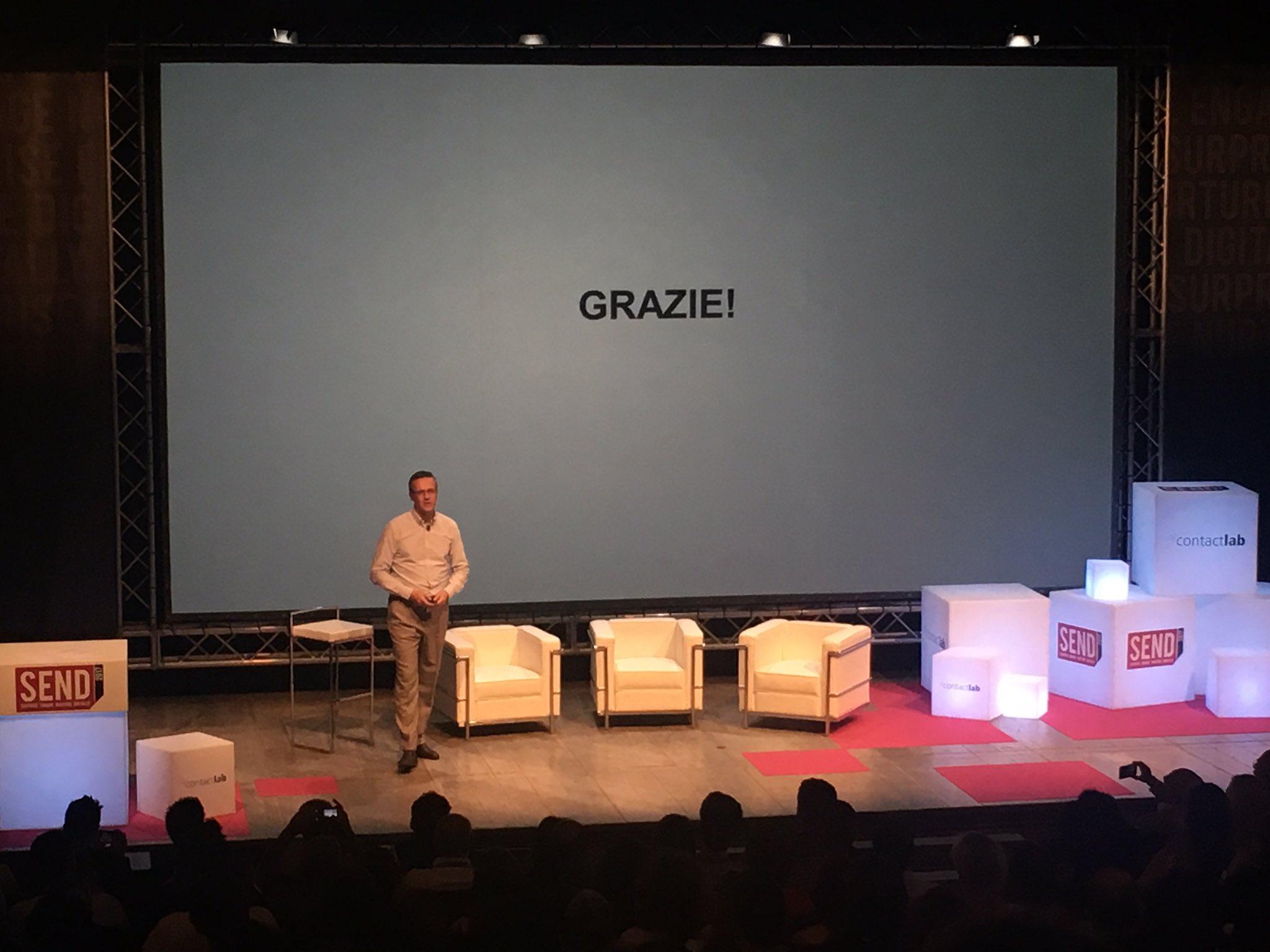 .@massimofubini apre il #SENDSummit17 al Teatro Franco Parenti di Milano https://t.co/tuEVTKut8u