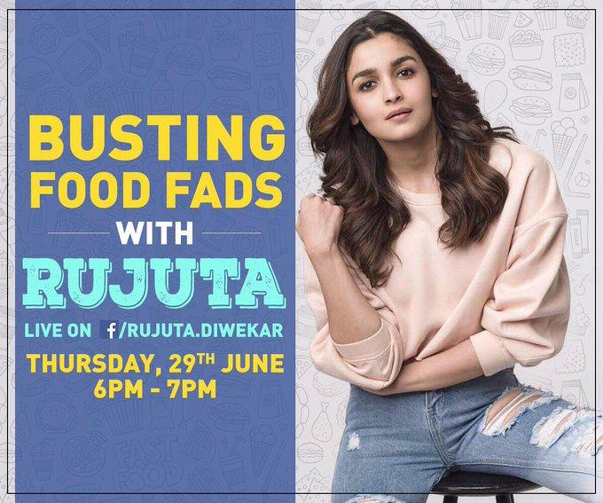 Love food & LOVE talking about food! Come join us :) @RujutaDiwekar 😀😅 https://t.co/YMuUfGsmDh