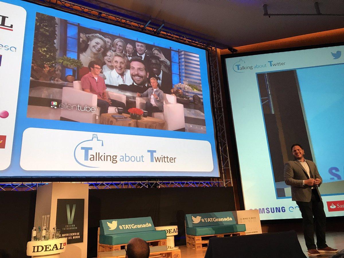 Hoy empieza @TATGranada el mayor evento de @Twitter a nivel mundial! E...