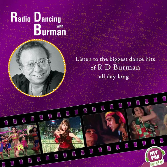 Happy Birthday Pancham Da!!! Listen to R D Burman\s best songs today only on