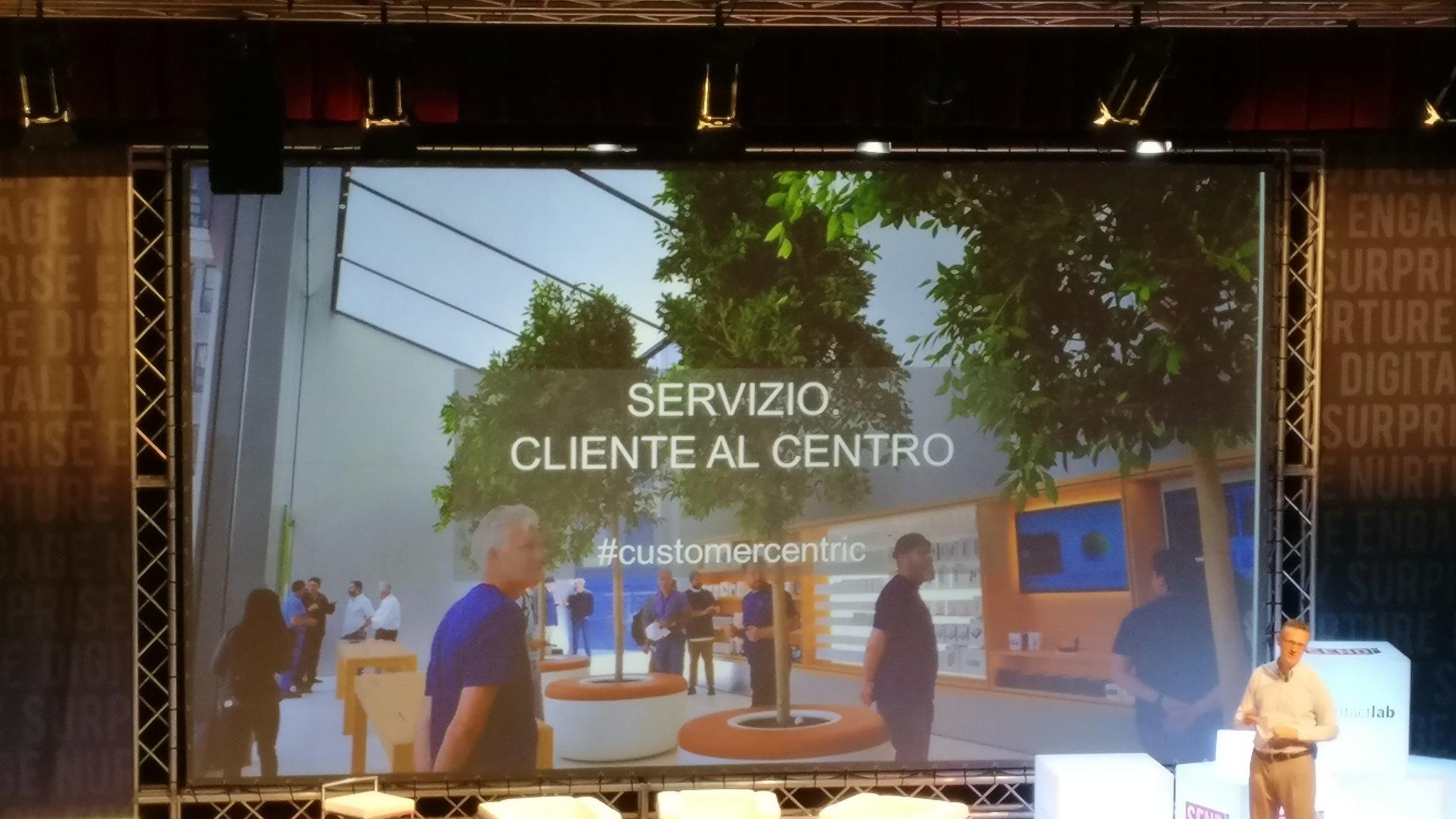 #SENDsummit17 #customercentric sopravviverà chi mette il cliente al centro del servizio https://t.co/aV9LLPCVWZ