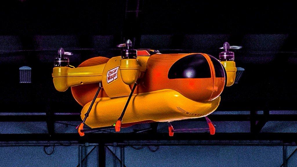Hot dogs from the sky! Oscar Mayer debuts WienerDrone https://t.co/fFX...