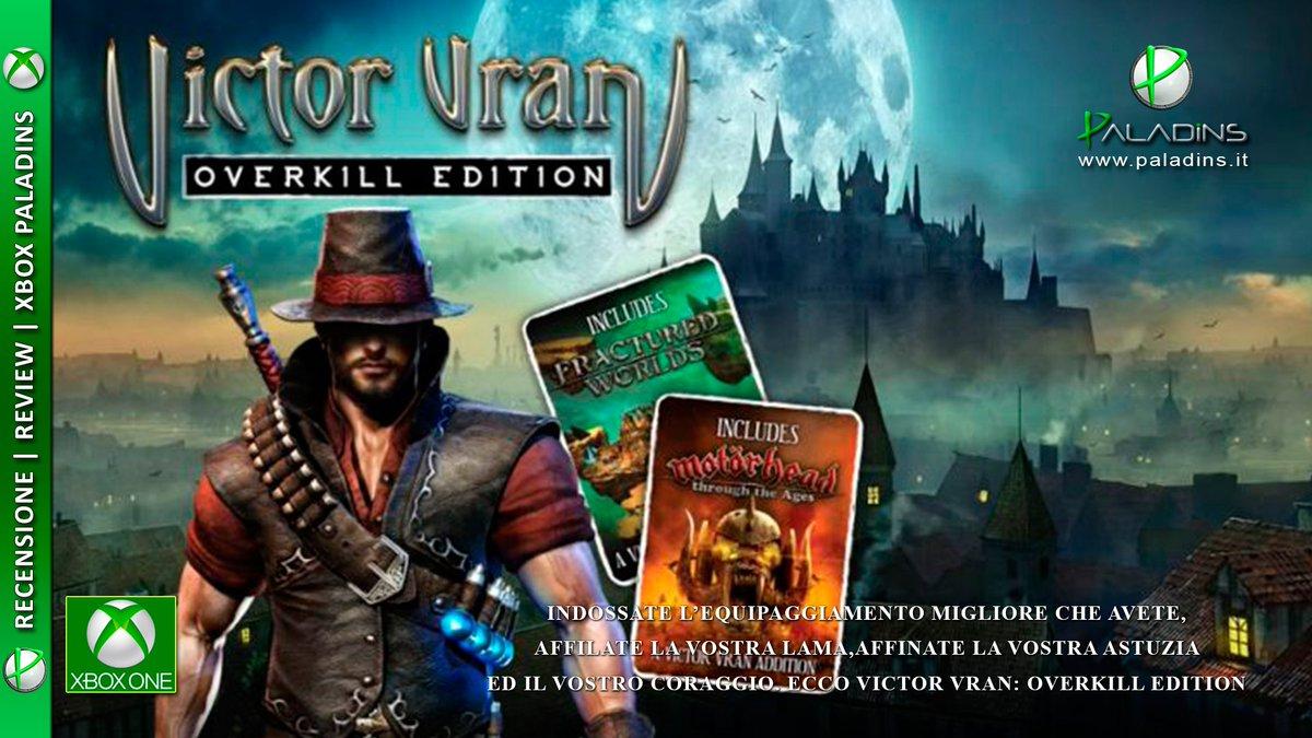Victor Vran Overkill Edition | #Recensione #XboxOne  http:// paladins.it/victor-vran-ov erkill-edition-recensione-xbox-one/ &nbsp; …   @WiredP @weare_premier #indie #indiegame #indiedev #gamedev<br>http://pic.twitter.com/RwbDF8INMo
