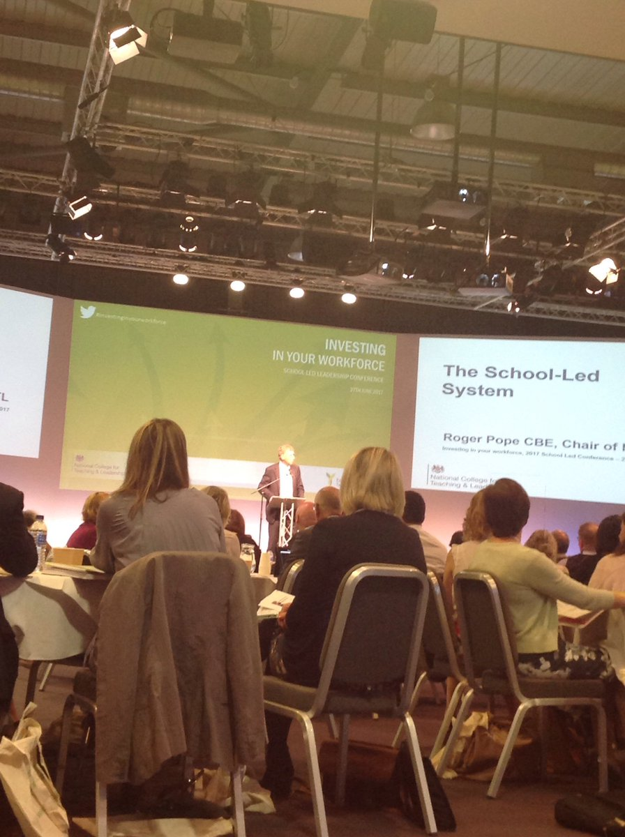 Our wonderful keynote speaker @the_college Roger Pope speaking about the School-Led system