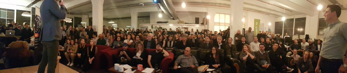 #Startupvic #Impact Pitch Night is the biggest yet: 650+ peeps! Here is proof @StartupVic @#GiantLeapVC #BTheChange #innovation #startupaus<br>http://pic.twitter.com/3xnvPS7xOB