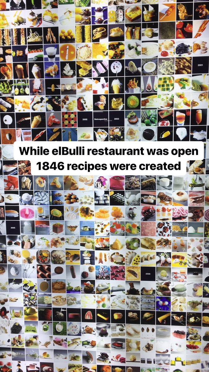 The many many many #recipes created at #elBulli restaurant - on display at the elBulli Lab in #Barcelona. <br>http://pic.twitter.com/D7KAluCW7w