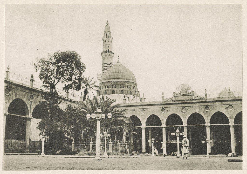 sejarah masjid nabawi