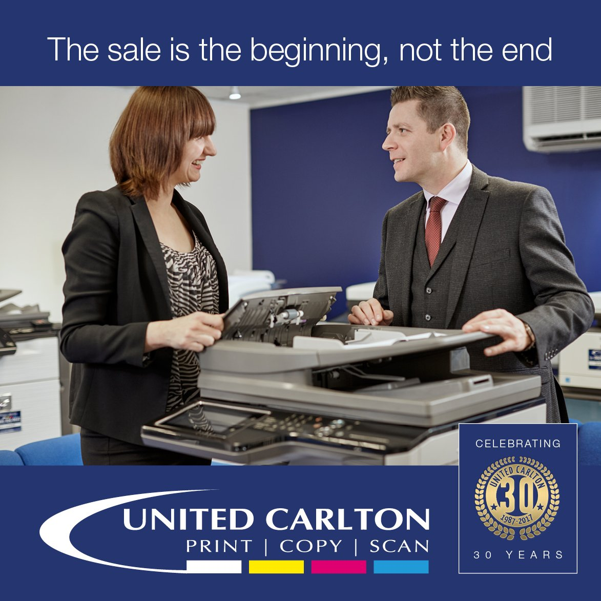 Users must authenticate themselves at the #printer, meaning unclaimed or unwanted jobs are never #printed  http://www. united-carlton.co.uk/solutions/prin t-management/ &nbsp; … <br>http://pic.twitter.com/6VaLFPnzUr