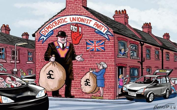 #MAY and #DUP £1BILLION DEAL TORIES take £1,000,000,000 from #Police #Firefighters #NHS #Doctors #Nurses #Paramedics #Ambulance<br>http://pic.twitter.com/QBYGSiZCIj