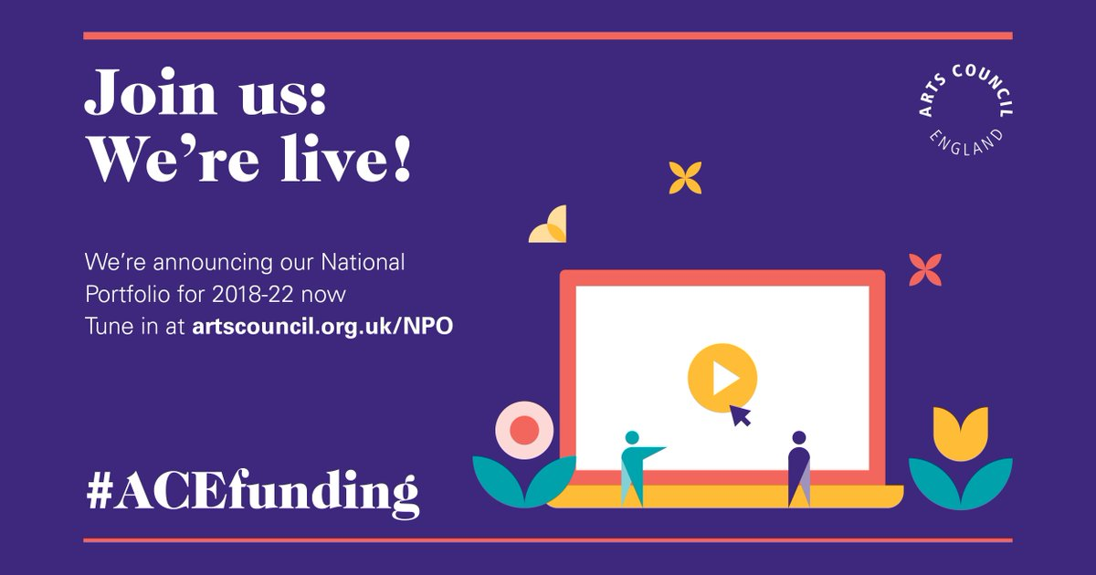 WE'RE LIVE! We're announcing our National Portfolio. Watch it live now...