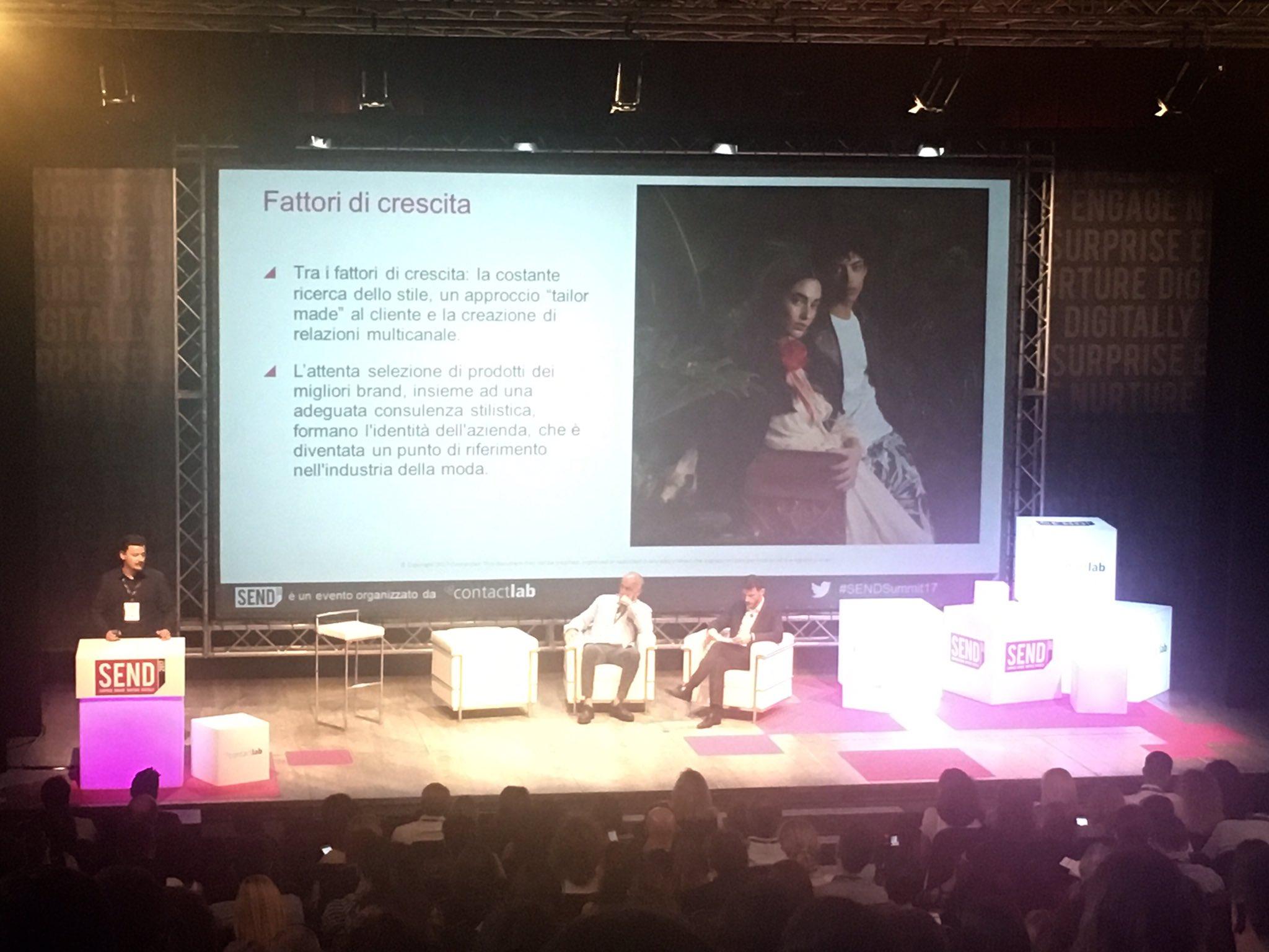 Al #SENDSummit17 si racconta l'esperienza di @ColtortiITA che ha sviluppato gli store of the future a partire dalle boutique storiche https://t.co/DUCCFTJOlo