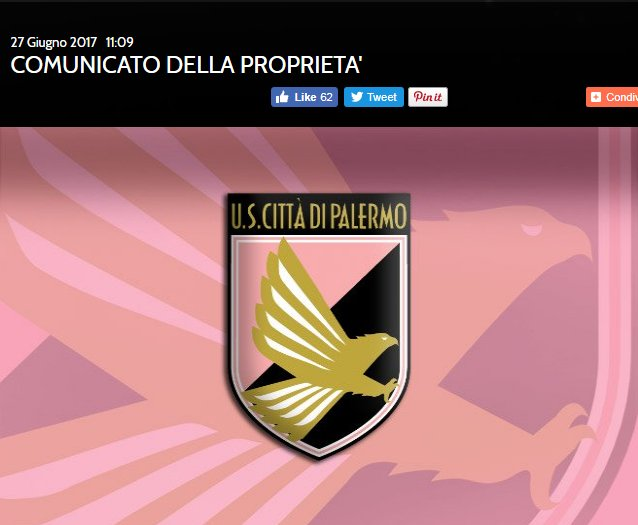 """Zamparini querela giornale che ipotizza penalizzazione per il Palermo: """"Solo ... - https://t.co/mXQH9bKMK5 #blogsicilianotizie #todaysport"""