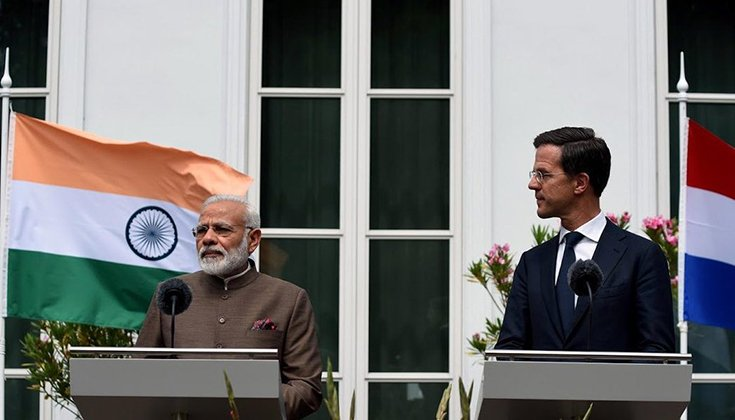 PM Modi thanks #Netherlands for helping...