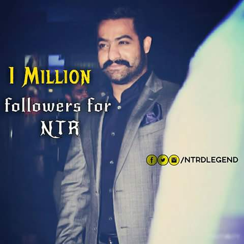 #1MFollowersForNTR  Follow #JrNTR Official #Twitter  Account  https:// twitter.com/tarak9999/stat us/839346215913410560 &nbsp; … <br>http://pic.twitter.com/YyoU6BPvH2