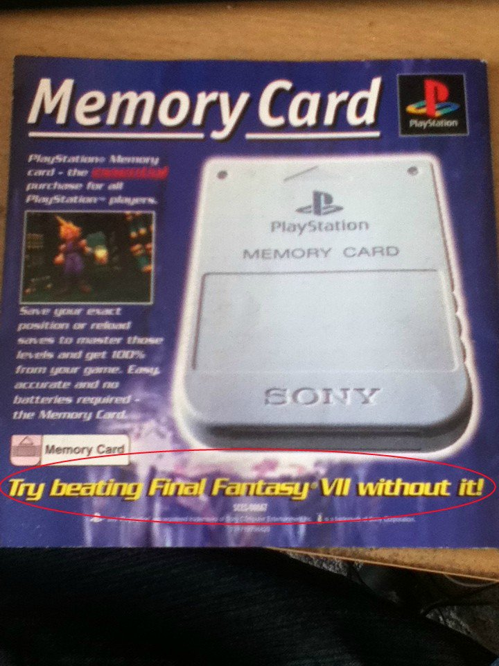 How to advertise a memory card https://t.co/57urS3QWZy