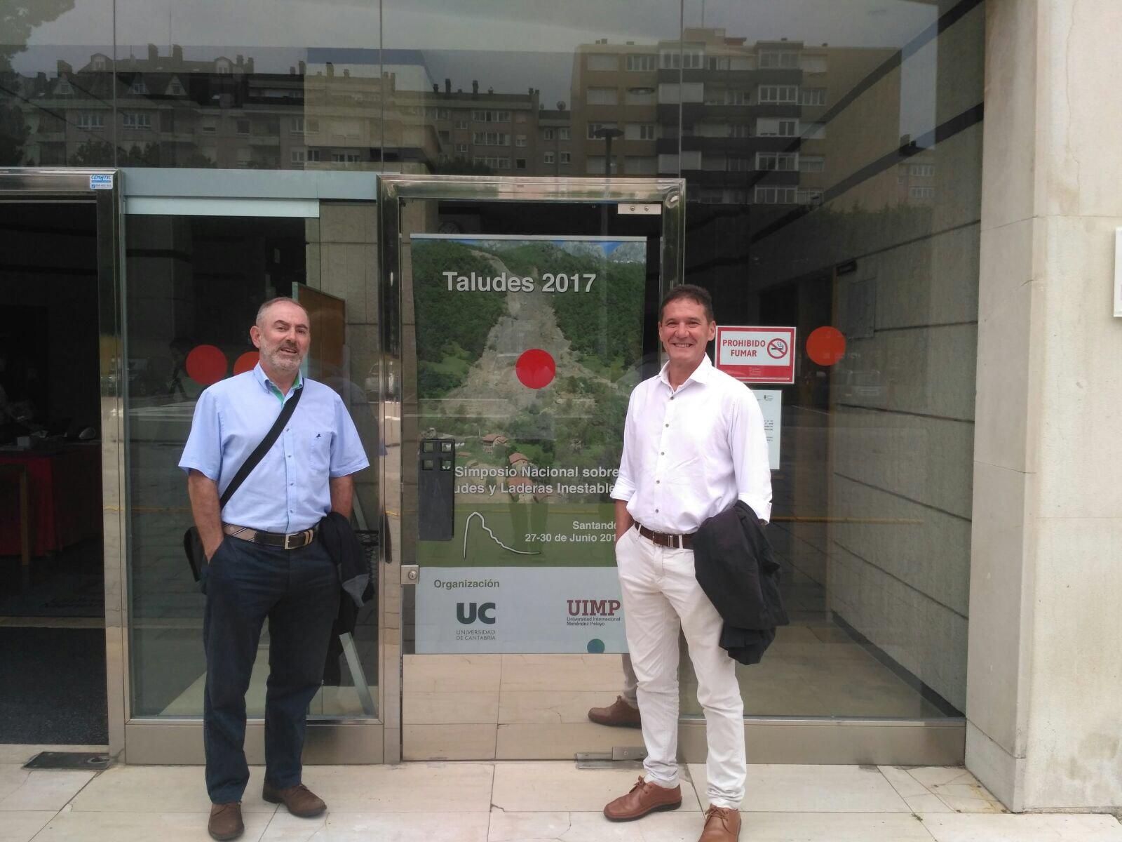 Los socios de @CTAConsultores ya están en #Santander. Comienza el congreso de #taludes17. Muchas ganas y mucha ilusión! https://t.co/ZjkcVi2I84