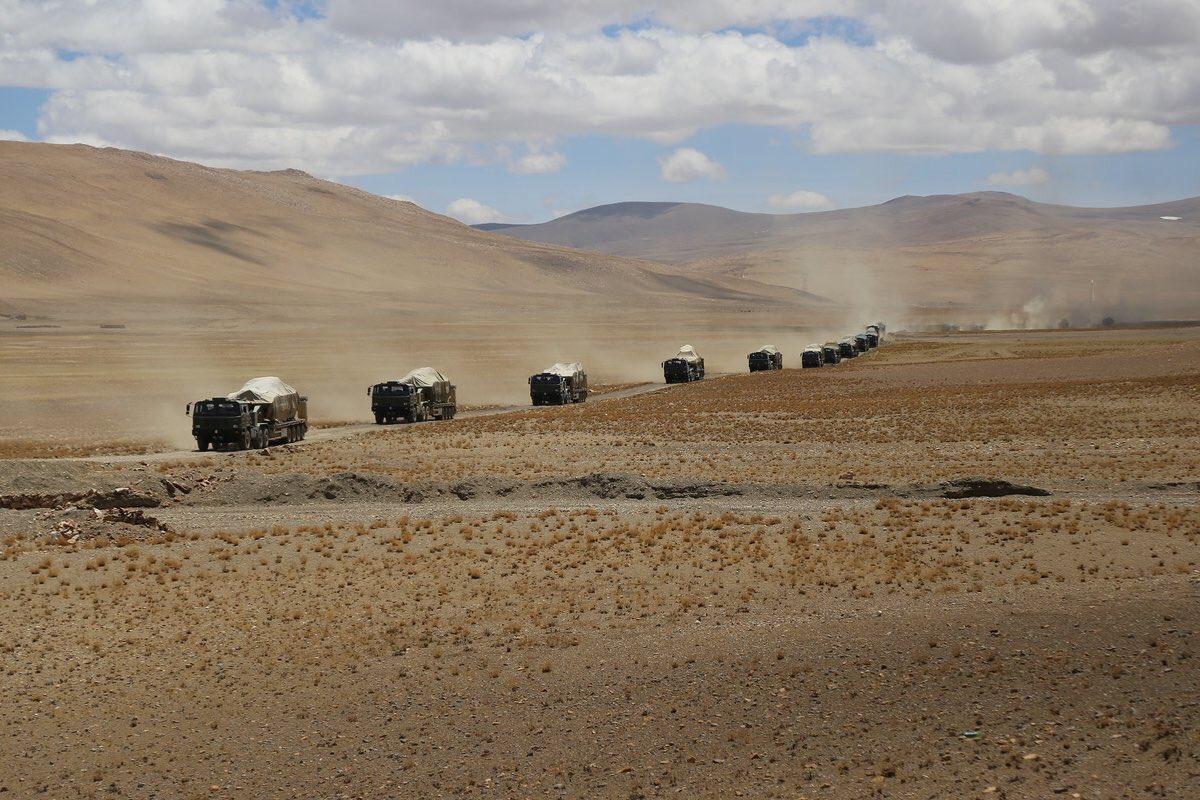 Çin-Hindistan sınırında gerilim... Çin sınıra asker sevkıyatı başlattı...