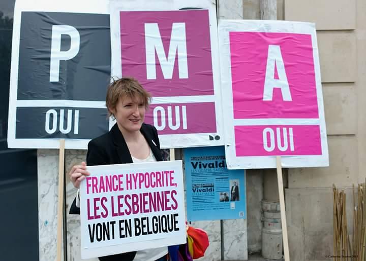 France hypocrite, les lesbiennes vont en Belgique : bientôt la fin? #p...