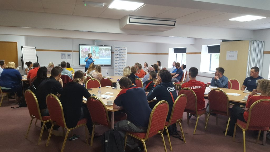 Awesome turnout at our @EmmaDoyleIII @sport_wales @tenniswales workshop..50 coaches talking coaching  #inspire #impact #morethansport<br>http://pic.twitter.com/aaDR4F9GK7