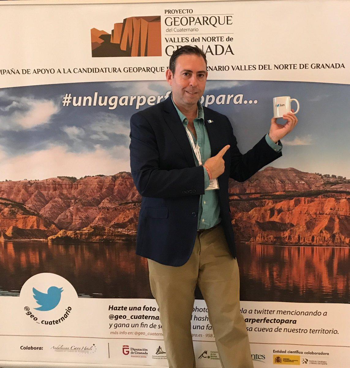 Magnífica iniciativa con #Unlugarperfectopara en el proyecto Geoparque...
