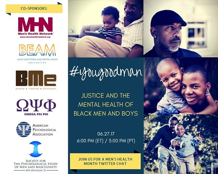 We're participating in a #TwitterChat TODAY with The @APA and our @BMeCommunity family! Join us if you can!! | #YouGoodMan | 👑 https://t.co/9R60xbldgI