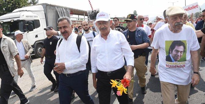 #AliSirmen de #Adalet için #Kılıçdaroğlu ile yürüyor!  https://t.co/Fn...