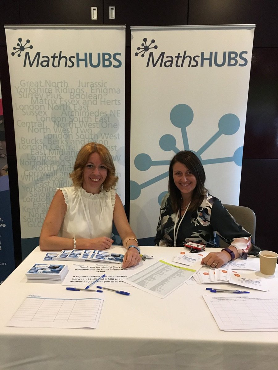 Maths Hubs at EM Teaching Schools Conference -pop along to our stand to find out more! Great speakers so far! #investinginyourworkforce