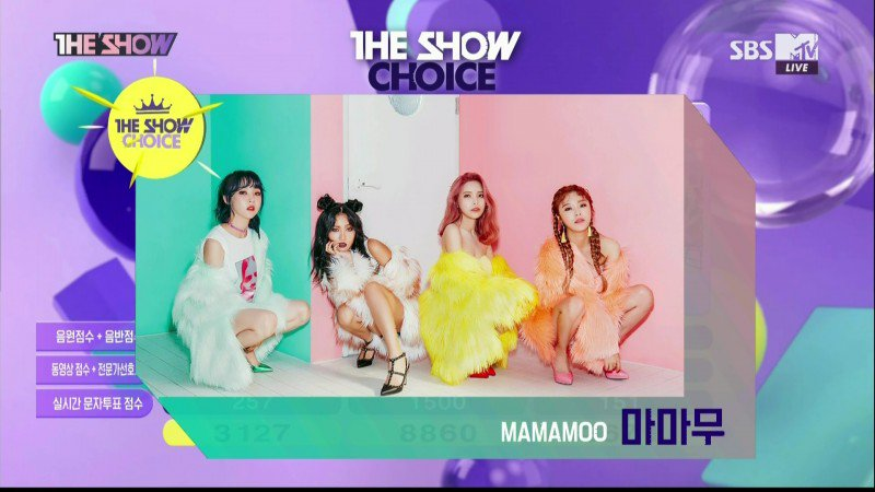 [#INFO] #Mamamoo ha ganado en The Show con #YesIAm #YesIAm1stWin<br>http://pic.twitter.com/bfRVXx6lrr