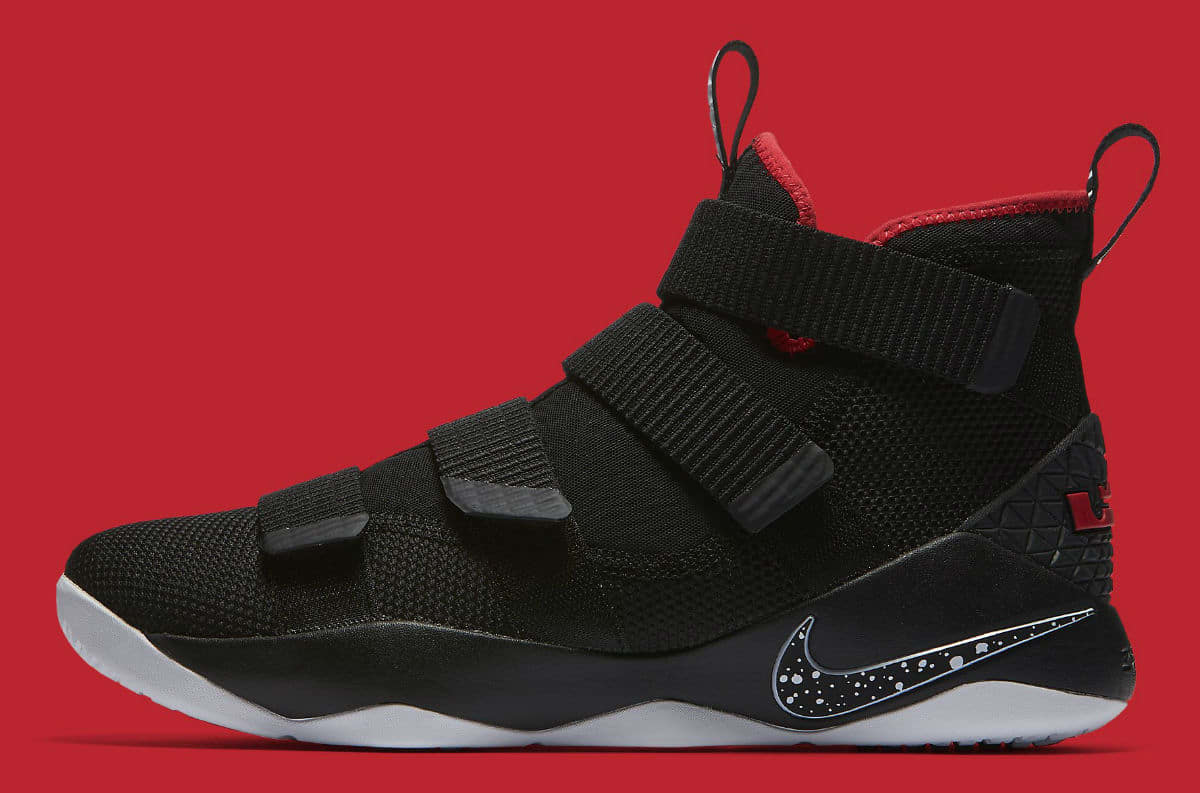 dbff92cc3e14 bred nike lebron soldier 11s release on july 1.