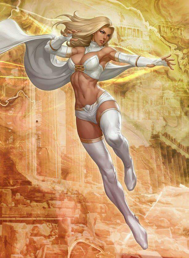 Emma  by Artgerm! Stanley Lau  #EmmaFrost #WhiteQueen #XMen  #Marvel #Movies #ComicBooks @rtniam<br>http://pic.twitter.com/8wsRS8stj3