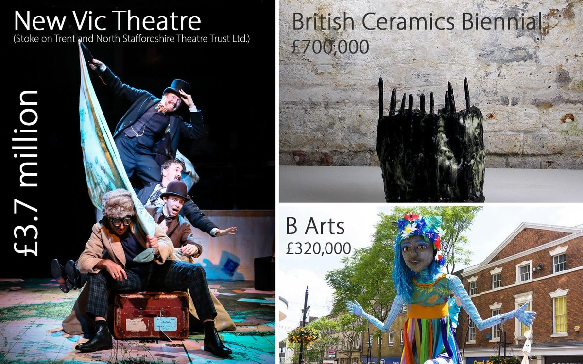 #NEWS Local arts and cultural organisations have been given £4.7m funding boost today by the Arts Council's National Portfolio for 2018-2022 <br>http://pic.twitter.com/YvfxMqJDSN