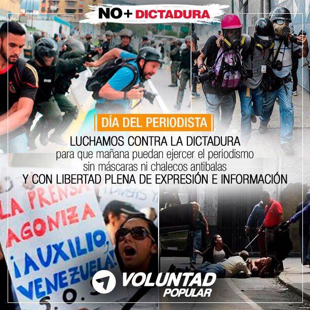 La difusión de la verdad siempre será enemiga de las dictaduras.  #Dia...