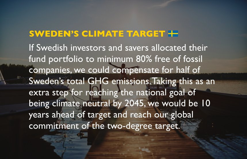 #Sweden can reach its #climate target 10 years ahead of schedule by using investments and savings. This is how. <br>http://pic.twitter.com/C1hfsnFUsR