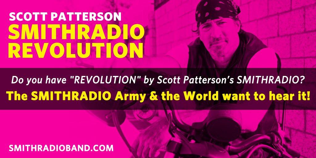 Hey @RADIOKSDT Got the @SMITHRADIO111 #REVOLUTION EP? I'd love to hear you play #LightsInTheSky @ScottGPatterson #AtomicLoveTour #NewMusic <br>http://pic.twitter.com/ul869xWRKT
