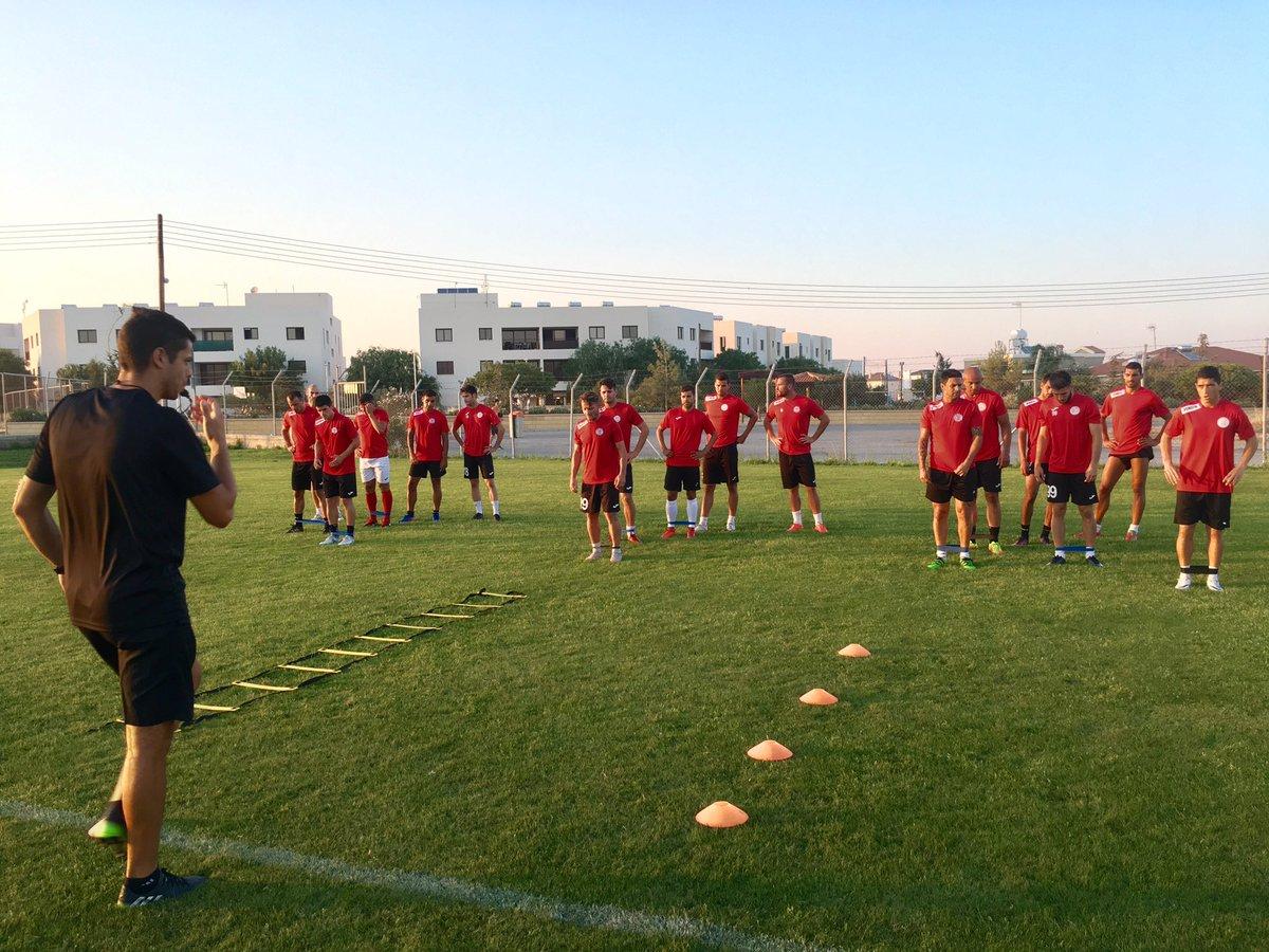 @EuropaLeague Match -2 training #Cyprus...