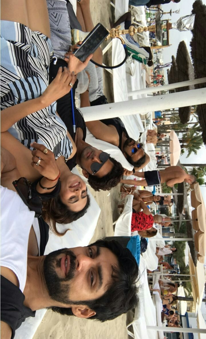 #RithvikDhanjani with Karan Wahi, Ravi Dubey and Sargun Mehta having some good time in Spain #Ibiza   Cr- karan wahi insta story <br>http://pic.twitter.com/DA7HHSwQtH