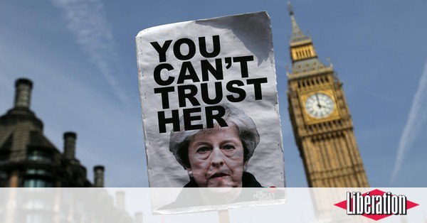 Theresa May : otage et en sursis https://t.co/uK1sU3af0P