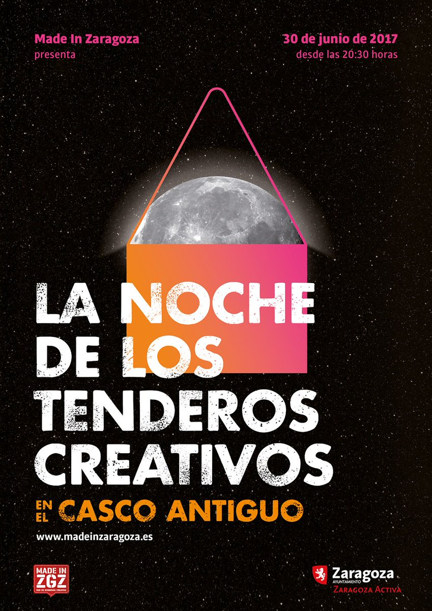 Noche de los Tenderos creativos #Zaragoza: craftsmen&amp;shops opened at night with live music, tastings and+suprises  http:// ow.ly/hzwq30cVJRQ  &nbsp;  <br>http://pic.twitter.com/TEL71bxZ48