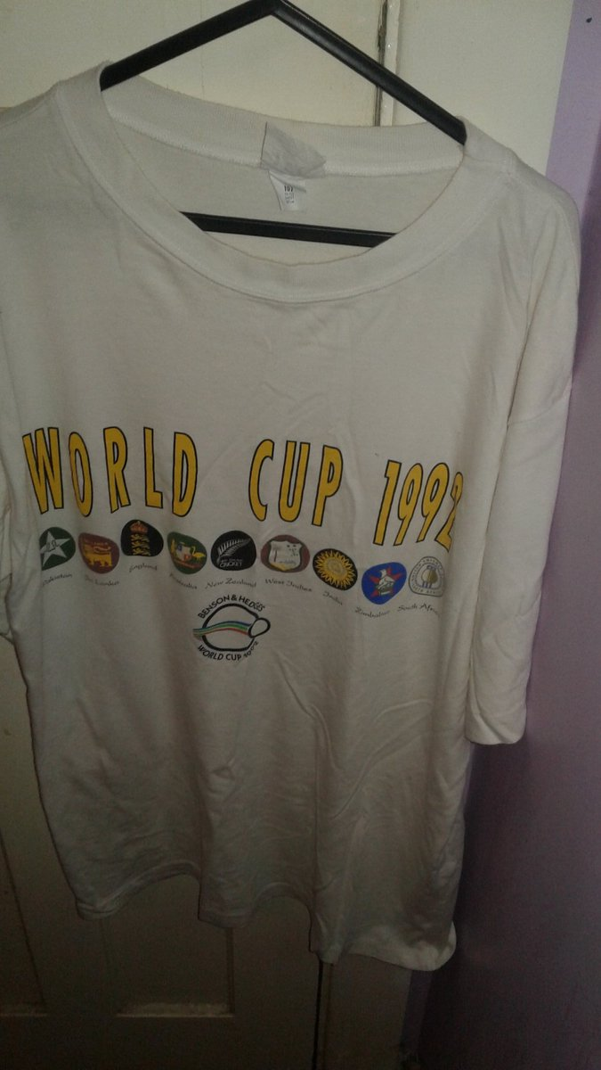 #T-shirt 1992 @cricketworldcup<br>http://pic.twitter.com/IhApLM6VJ5