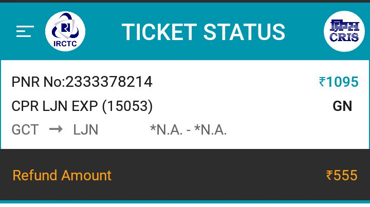 Organised #loot by @RailMinIndia 50% deduction on cancellation to confirm ticket is #achchhedin brought to us by @sureshpprabhu ji.<br>http://pic.twitter.com/cUN0tKmcOT