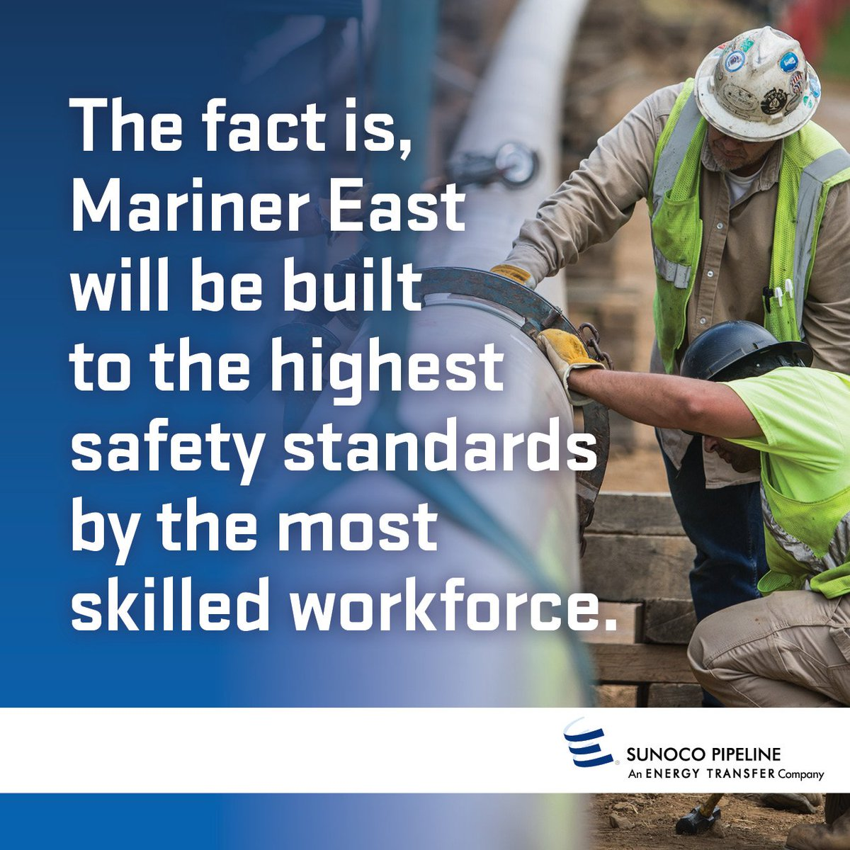 Don&#39;t be misled: Get the facts. Community, employee #safety a top priority for Mariner East! Read @delcotimes LTE:  http:// ow.ly/hthM30cUrMG  &nbsp;  <br>http://pic.twitter.com/xZub5bp9Cj