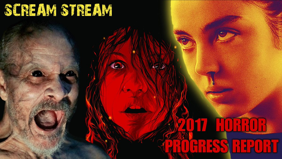 #ScreamStream #primetime TONIGHT @ 8PM EST! We&#39;ll be discussing 2017 #Horror so far, w @CJLLonewolf &amp; @WILIreviews  https:// youtu.be/xt3BSqfe-a4  &nbsp;  <br>http://pic.twitter.com/NvWXdOpsiX