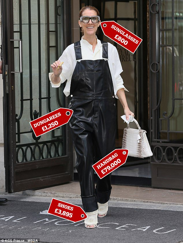 You can do as #CelineDion and get your perfect #outfit for £85K...or you can go to our shops and get it for £8 while helping our cause  <br>http://pic.twitter.com/UCXc8x1CVf