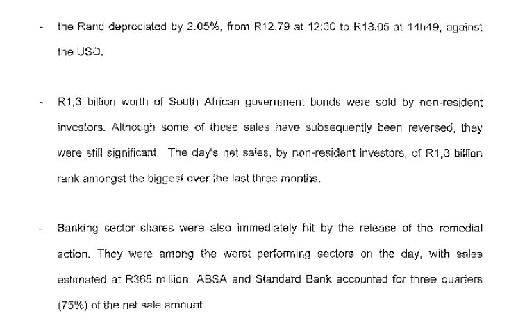 The #ReserveBank on the effects of the #...