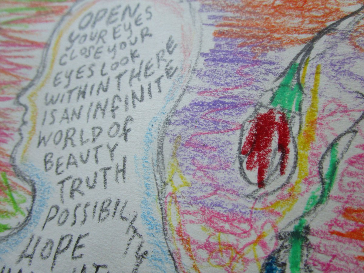 close yr eyes ~ what do u see?  Detail from my 6th entry #supernormaled #cosmic #consciousness #comix #comics #drawing #comicadayjune #magic<br>http://pic.twitter.com/C6IXfqAmis
