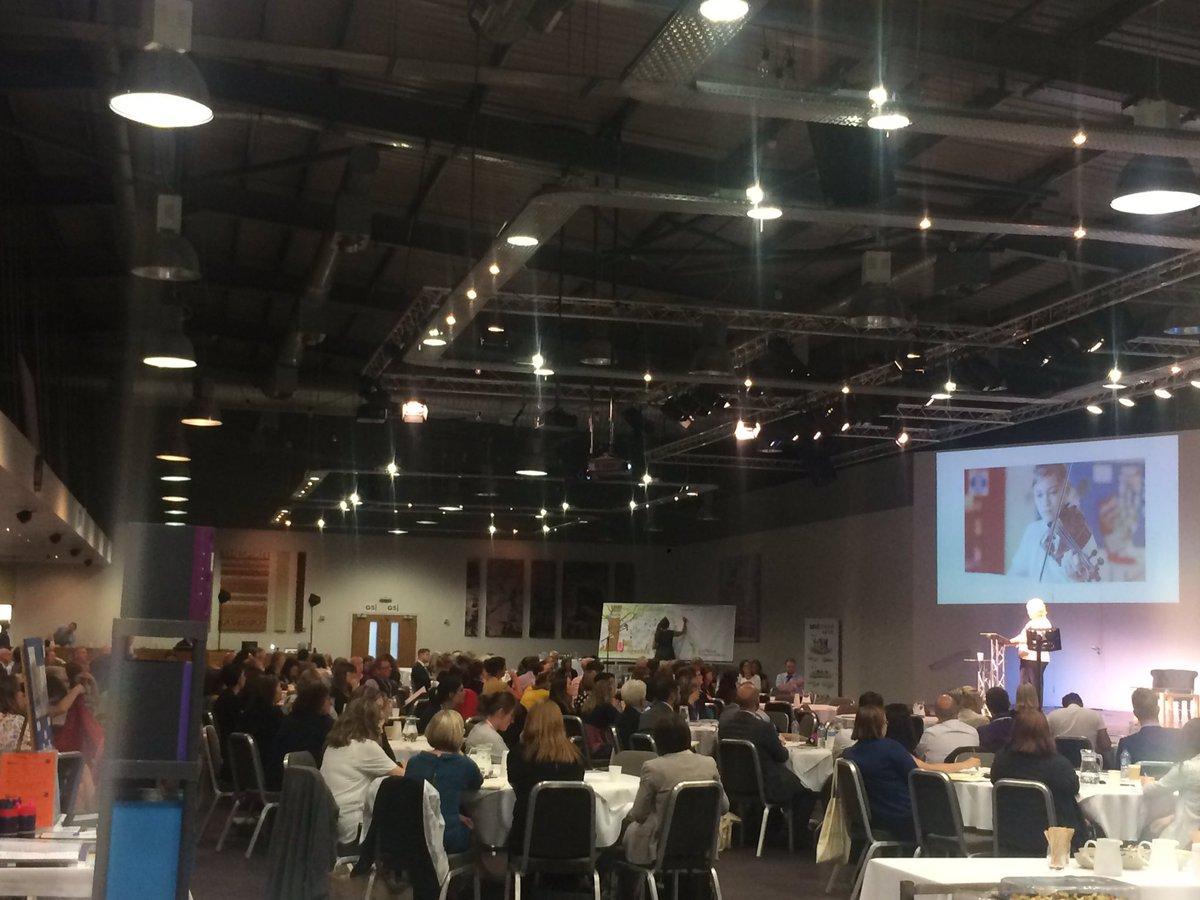 Lots of fantastic enthusiastic teachers coming to talk to @SoundTrainingUK at East Midlands TSA conference! #investinginyourworkforce