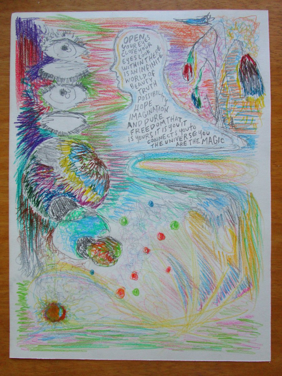 #Awake to the Magic! My 6th entry  #supernormaled #cosmic #consciousness #comix #comics #drawing #comicadayjune #magic @Lizzlizz<br>http://pic.twitter.com/xuIsD3nEIe