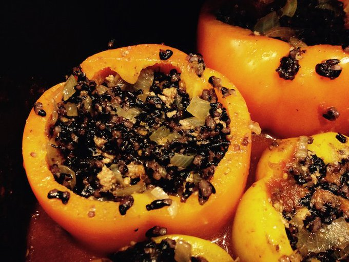 Bell Peppers Stuffed With Quinoa #RecipeIdeas for Vibrant Living